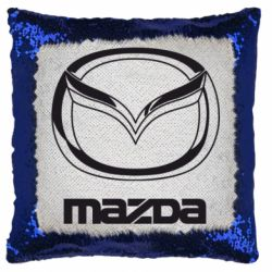 Подушка-хамелеон Mazda Logo