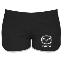 Женские шорты Mazda Logo - FatLine