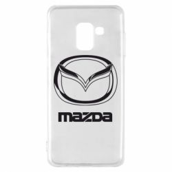 Чохол для Samsung A8 2018 Mazda Logo
