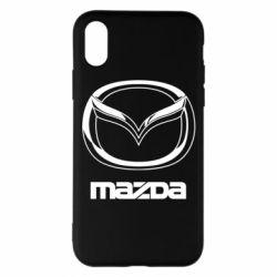 Чехол для iPhone X/Xs Mazda Small