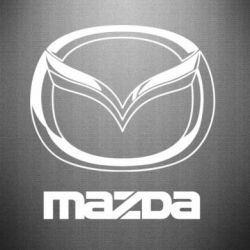 Наклейка Mazda Small - FatLine