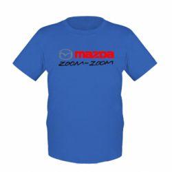 Детская футболка Mazda Zoom-Zoom - FatLine