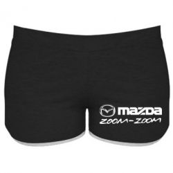 Женские шорты Mazda Zoom-Zoom - FatLine