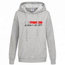 Женская толстовка Mazda Zoom-Zoom