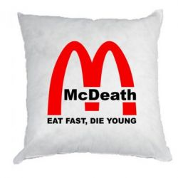 Подушка McDeath - FatLine