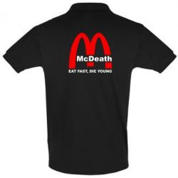 Футболка Поло McDeath - FatLine