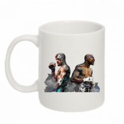 Кружка 320ml McGregor and Mayweather art