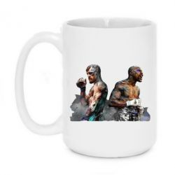 Кружка 420ml McGregor and Mayweather art
