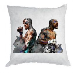 Подушка McGregor and Mayweather art