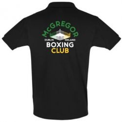 Футболка Поло McGregor Boxing Club