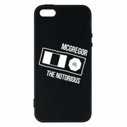 Купить UFC, Чехол для iPhone5/5S/SE McGregor The Notorious, FatLine