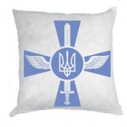 Подушка Меч, крила та герб - FatLine