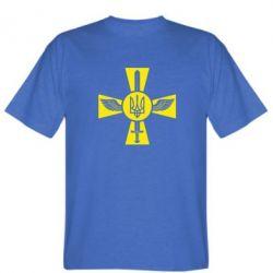 Мужская футболка Меч, крила та герб - FatLine