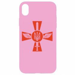 Чехол для iPhone XR Меч, крила та герб