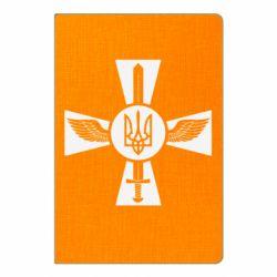 Блокнот А5 Меч, крила та герб
