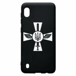 Чехол для Samsung A10 Меч, крила та герб