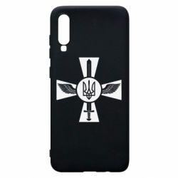 Чехол для Samsung A70 Меч, крила та герб