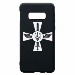 Чехол для Samsung S10e Меч, крила та герб