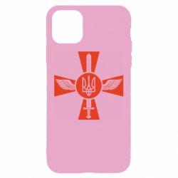 Чехол для iPhone 11 Меч, крила та герб