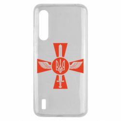 Чехол для Xiaomi Mi9 Lite Меч, крила та герб