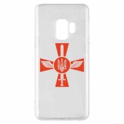 Чехол для Samsung S9 Меч, крила та герб