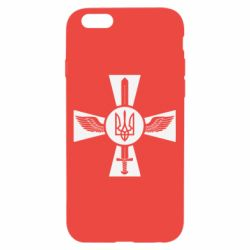 Чехол для iPhone 6/6S Меч, крила та герб