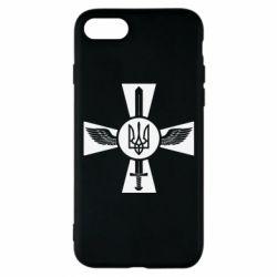 Чехол для iPhone 7 Меч, крила та герб