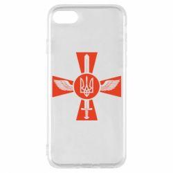 Чехол для iPhone 8 Меч, крила та герб