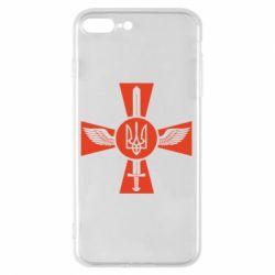 Чехол для iPhone 8 Plus Меч, крила та герб