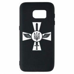 Чехол для Samsung S7 Меч, крила та герб
