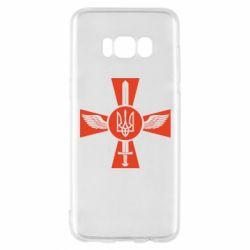 Чехол для Samsung S8 Меч, крила та герб