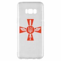 Чехол для Samsung S8+ Меч, крила та герб
