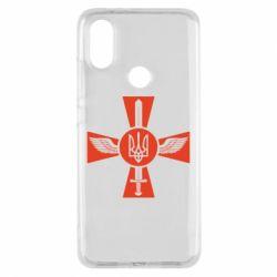 Чехол для Xiaomi Mi A2 Меч, крила та герб