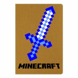 Блокнот А5 Меч Minecraft