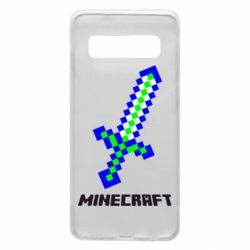 Чохол для Samsung S10 Меч Minecraft