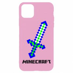 Чехол для iPhone 11 Меч Minecraft