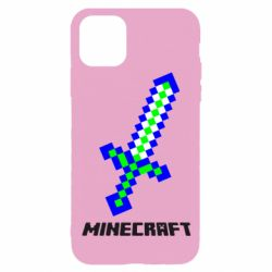Чохол для iPhone 11 Pro Меч Minecraft