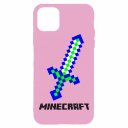 Чохол для iPhone 11 Pro Max Меч Minecraft