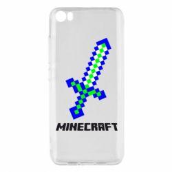 Чехол для Xiaomi Mi5/Mi5 Pro Меч Minecraft