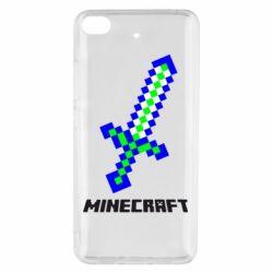 Чехол для Xiaomi Mi 5s Меч Minecraft