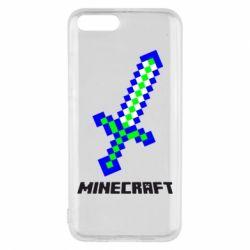 Чехол для Xiaomi Mi6 Меч Minecraft