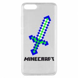 Чехол для Xiaomi Mi Note 3 Меч Minecraft
