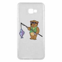 Чохол для Samsung J4 Plus 2018 Ведмідь ловить рибу