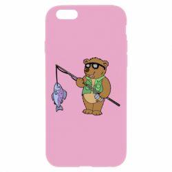 Чохол для iPhone 6 Plus/6S Plus Ведмідь ловить рибу