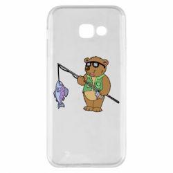 Чохол для Samsung A5 2017 Ведмідь ловить рибу