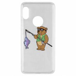 Чохол для Xiaomi Redmi Note 5 Ведмідь ловить рибу