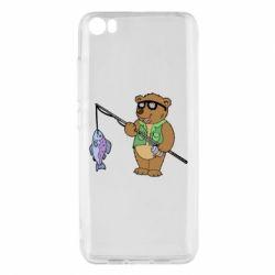 Чохол для Xiaomi Mi5/Mi5 Pro Ведмідь ловить рибу