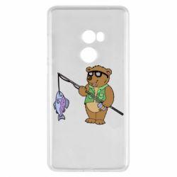 Чохол для Xiaomi Mi Mix 2 Ведмідь ловить рибу