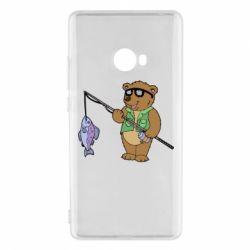 Чохол для Xiaomi Mi Note 2 Ведмідь ловить рибу