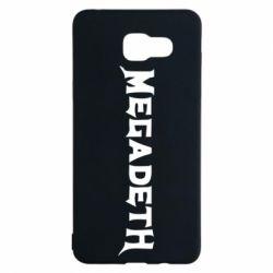 Чехол для Samsung A5 2016 Megadeth